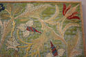 Morris & Co embroidered textile - picture 8