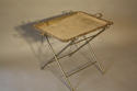 Victorian silver plated tray table - picture 1