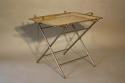 Victorian silver plated tray table - picture 2