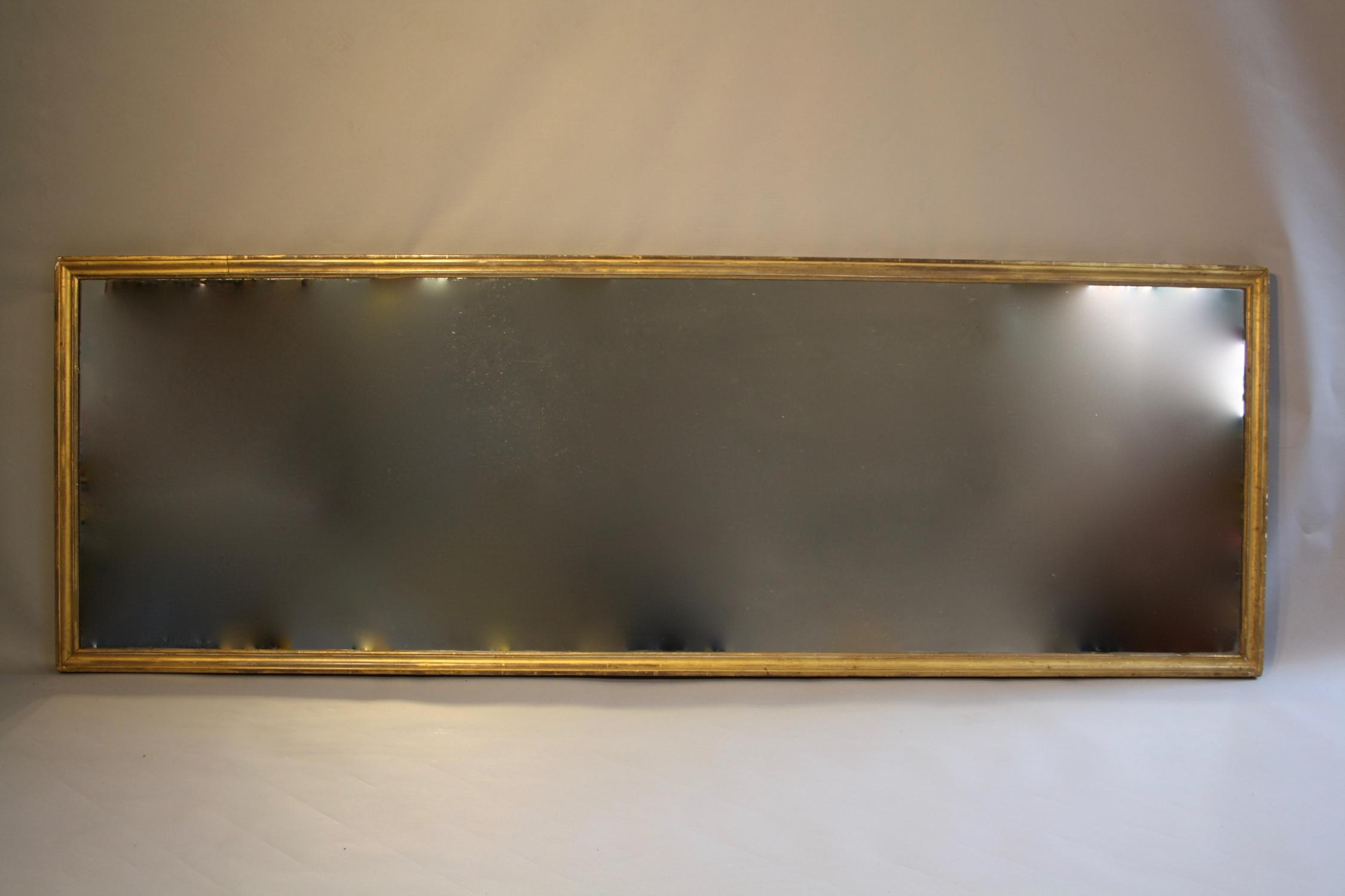 English pier glass mirror c1860