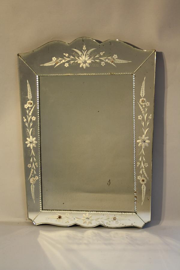 Small Venetian mirror