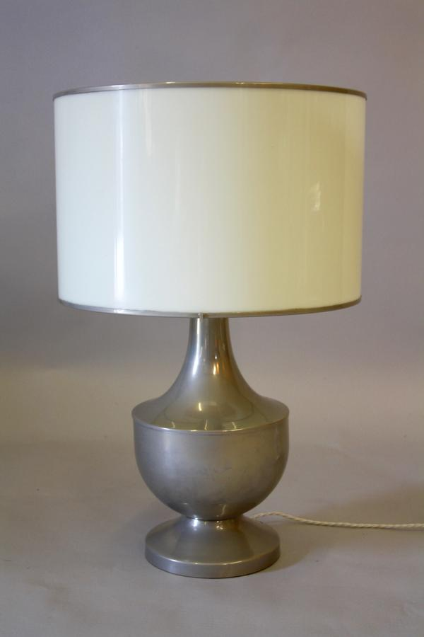 Italian pewter lamp