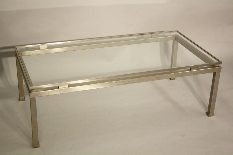 Guy Lefevre silver table