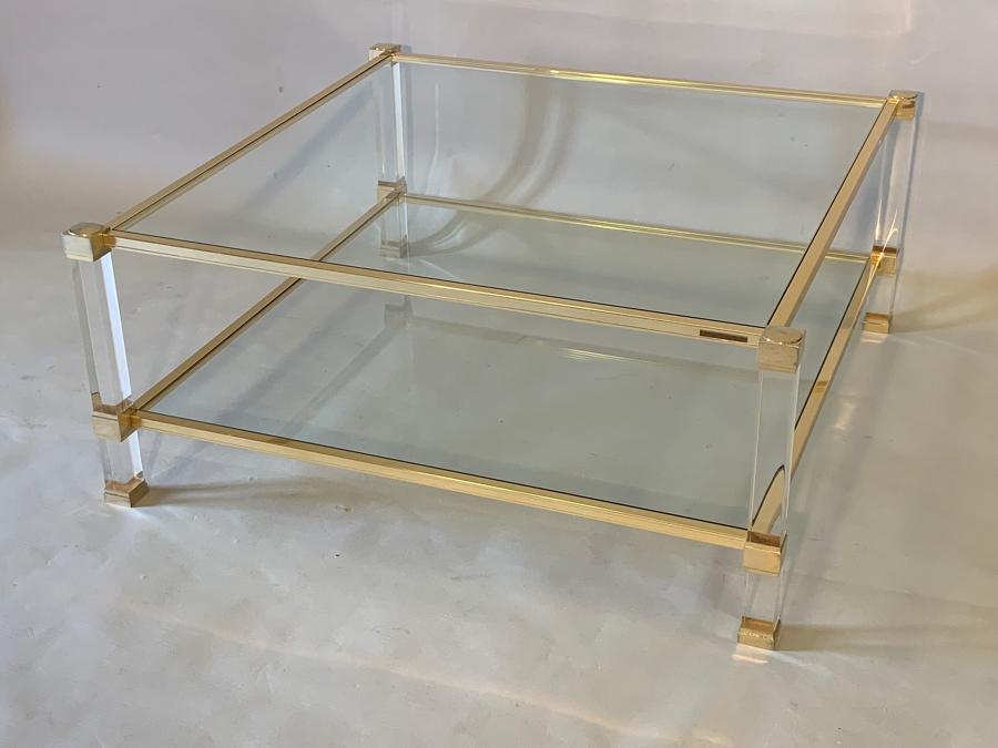 Square Pierre Vandel coffee table