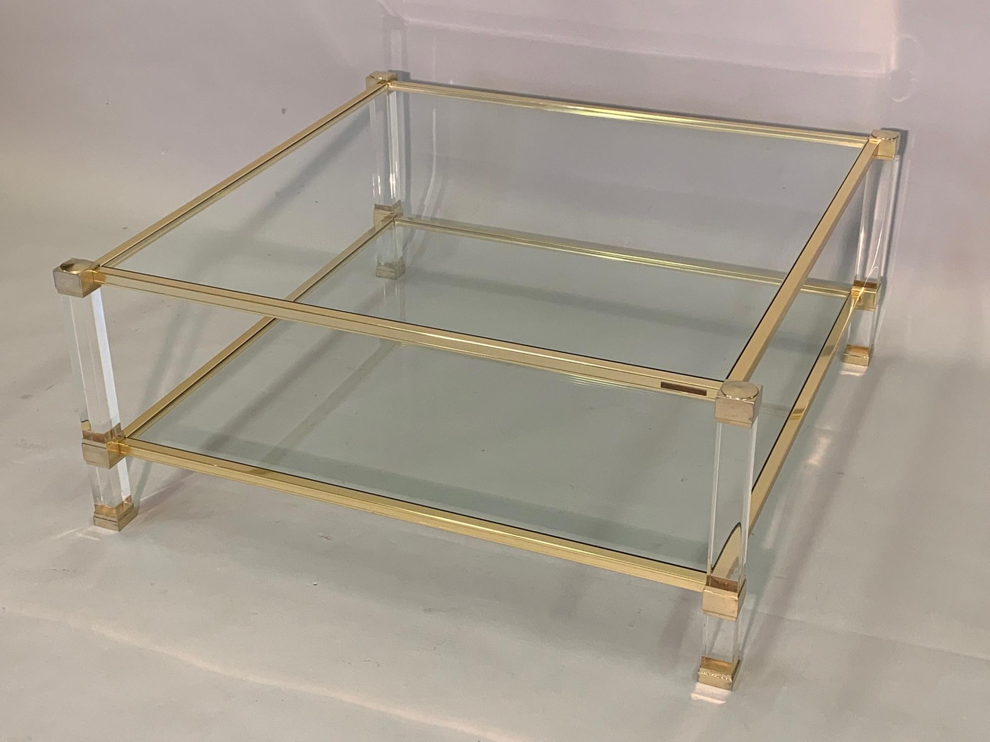 Square Pierre Vandel coffee table