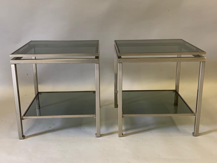 Guy Lefevre side tables