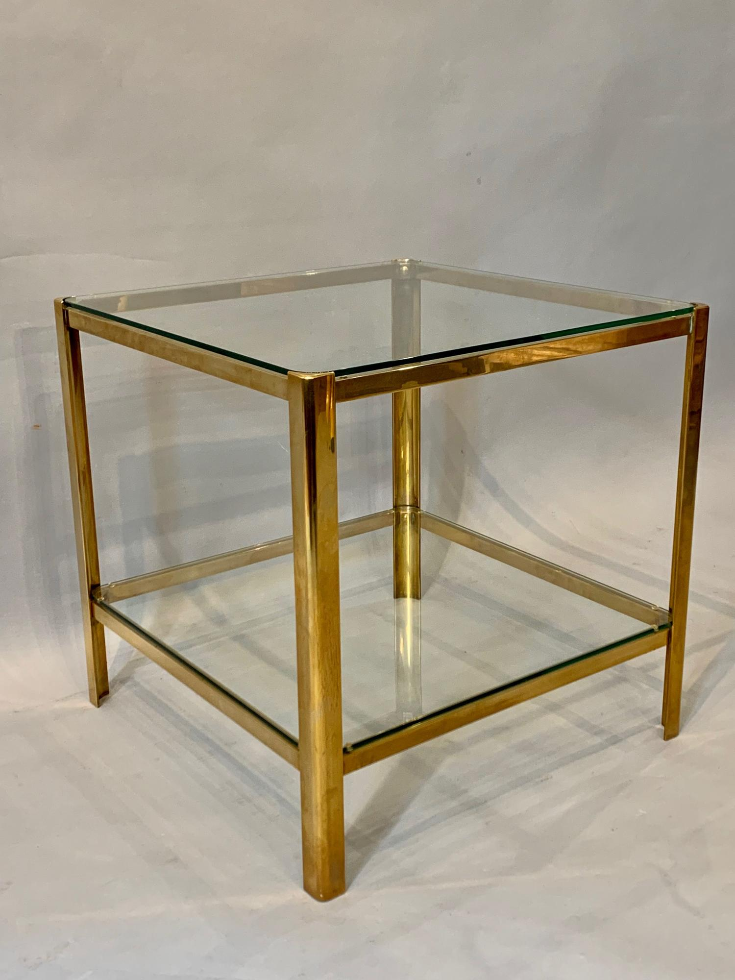 Gilt bronze side table