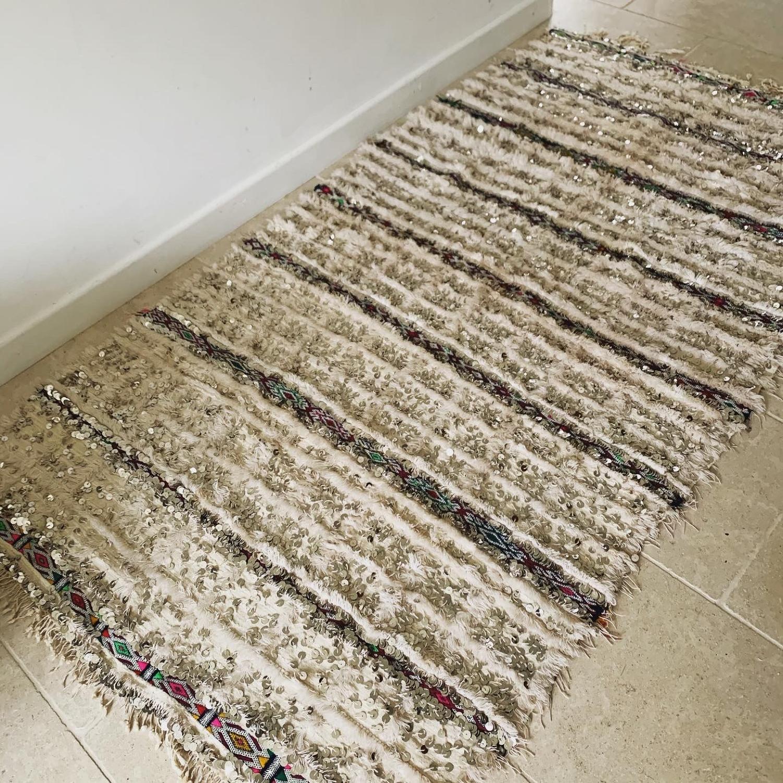 Moroccan Handira rug