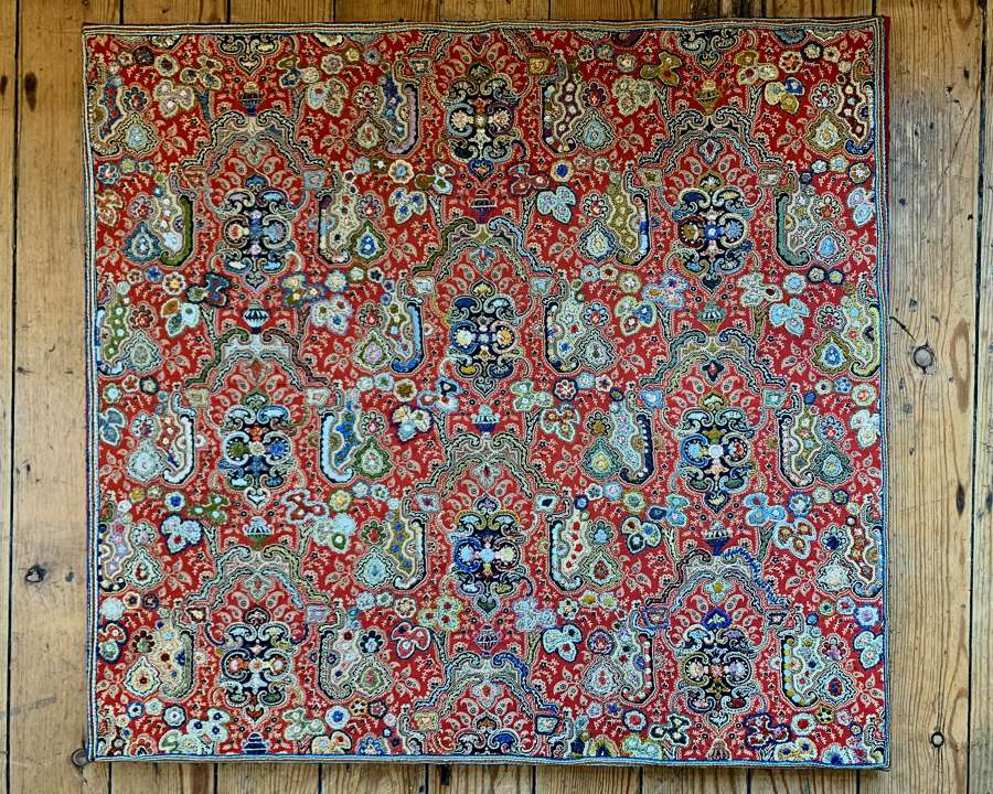 Embroidered Kashmir textile
