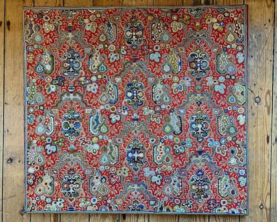 Embroidered Kashmir textile