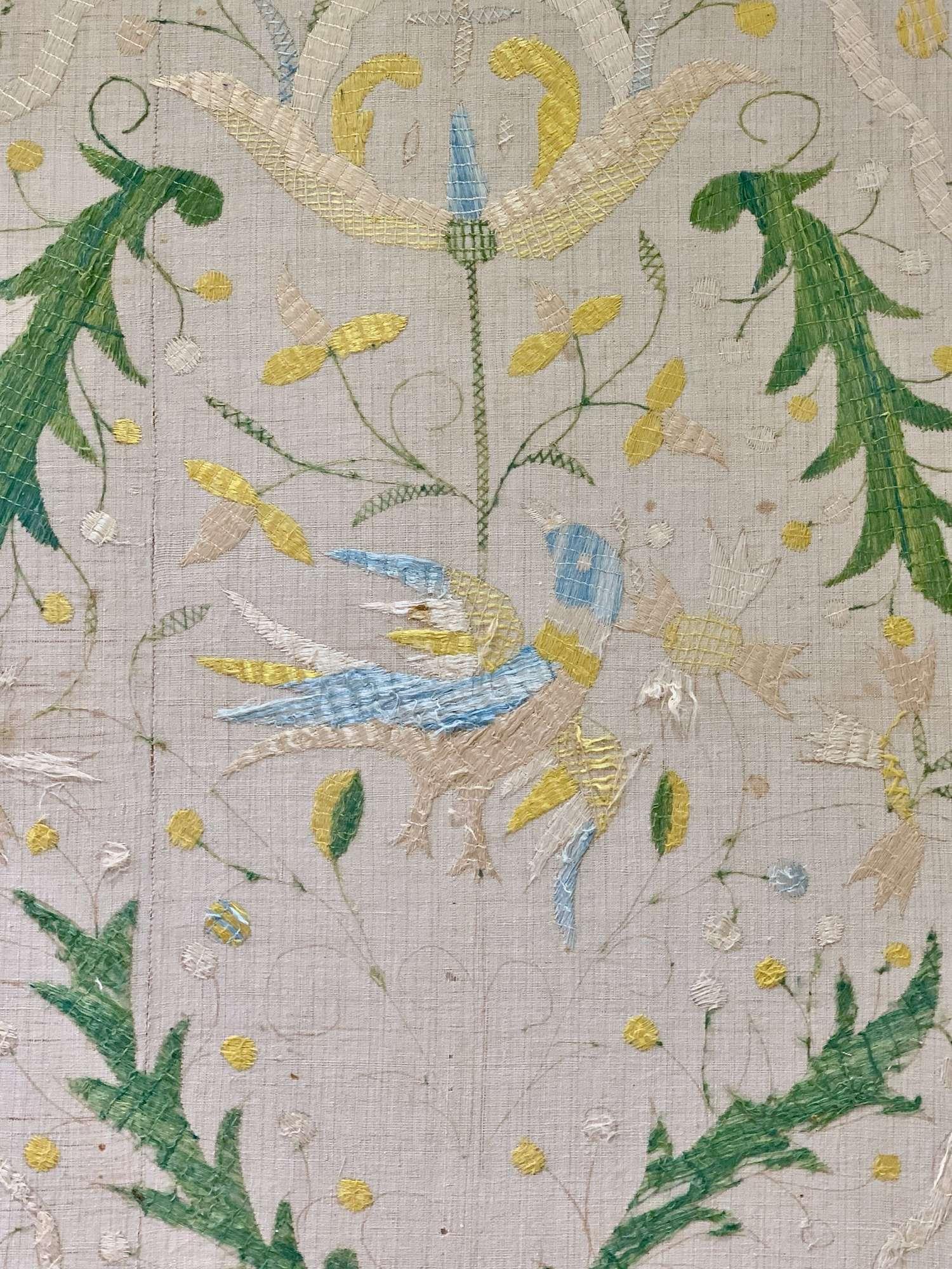 Huge Antique Castello Branco textile